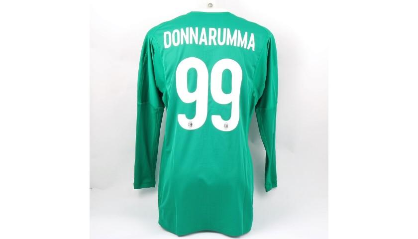 Donnarumma's Milan Match Kit, EL 2017/18 + Matchball