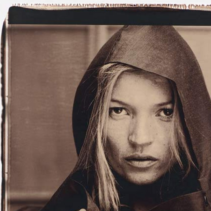 Kate Moss Signed Giant Polaroid