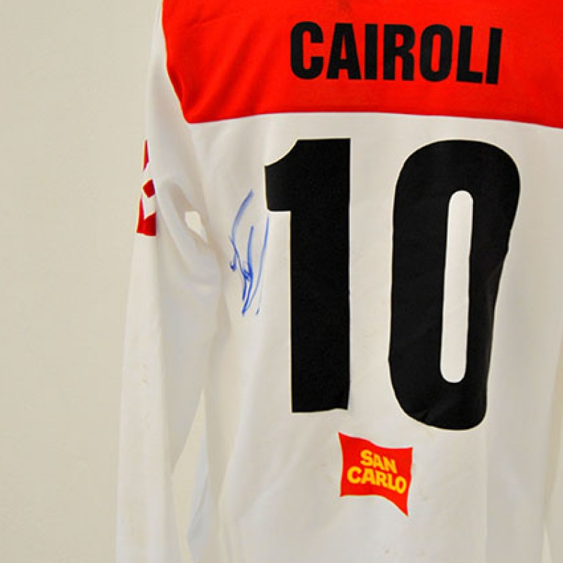 """Maglia di Tony Cairoli autografata del derby """"Tutti In Campo Per il Sic"""""""