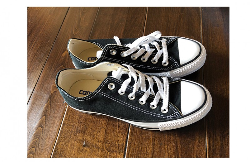 Avril's Personal Converse Sneakers
