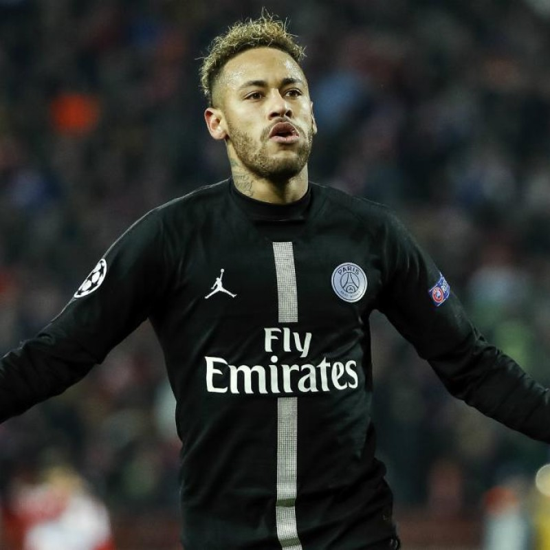 Neymar's PSG Match-Issue/Worn Shirt, UCL 2018/19