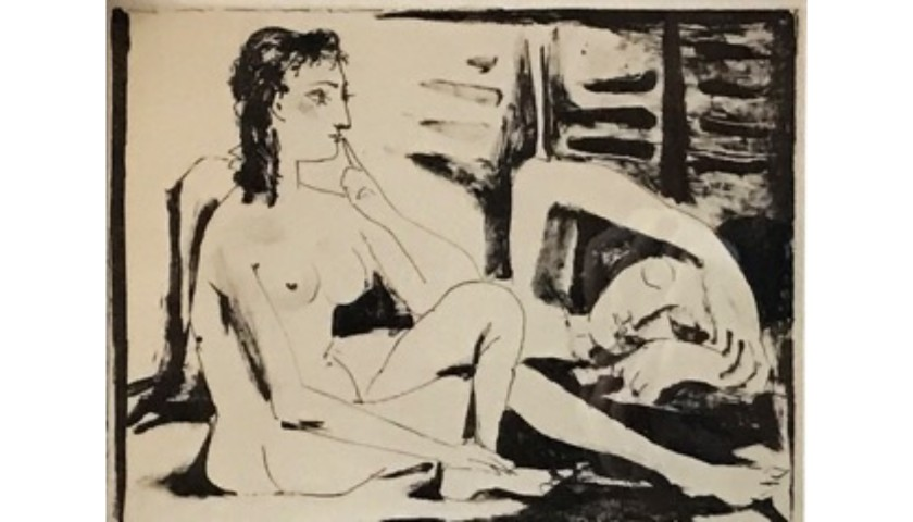 """""""Observation De Reve"""" by Pablo Picasso"""