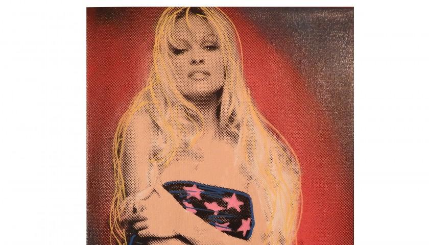 """Pamela Anderson"" by Steve Kaufman"