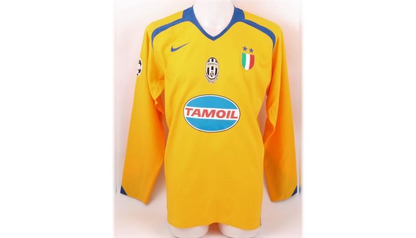 innovative design 11810 b6431 Cannavaro's Juventus Match Shirt, 2005/06 - CharityStars