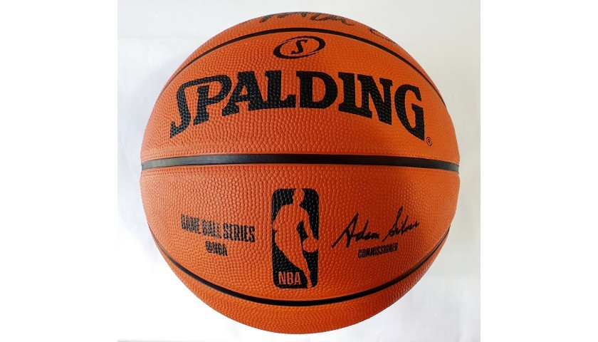 Official Spalding Basketball - Signed by Magic Johnson