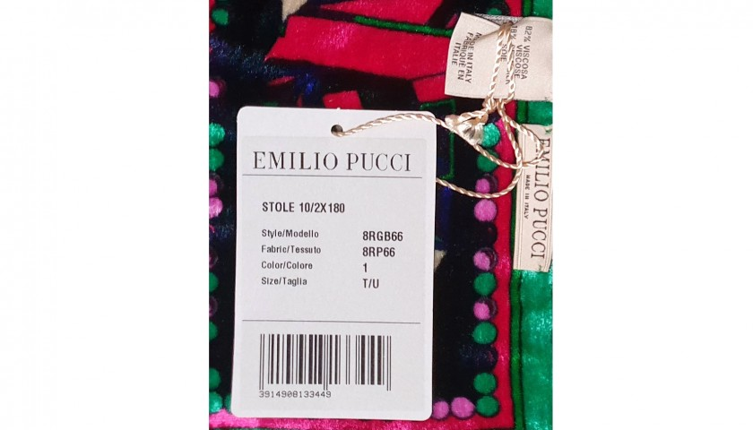 Emilio Pucci Scarf with Star Pattern