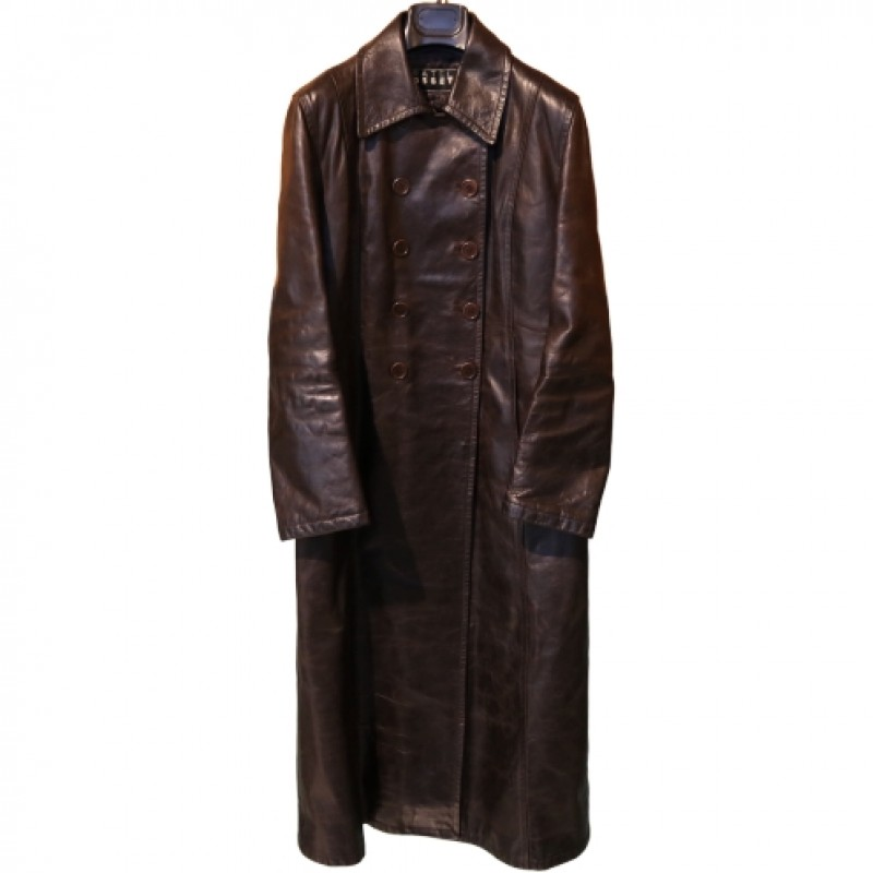 Fratelli Rossetti Vintage Leather Coat
