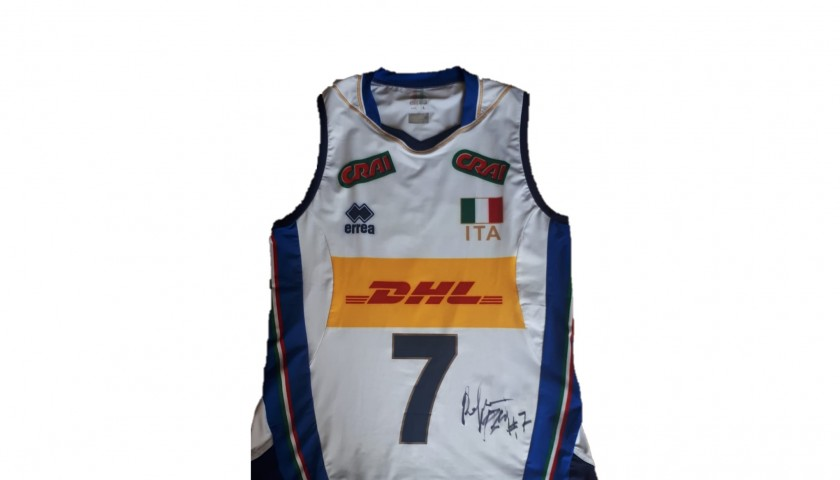 Folie's Italvolley Worn and Signed Jersey