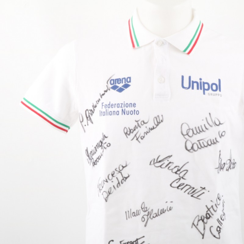 Arena Shirt signed by the Rio 2016 Italy Sincronette