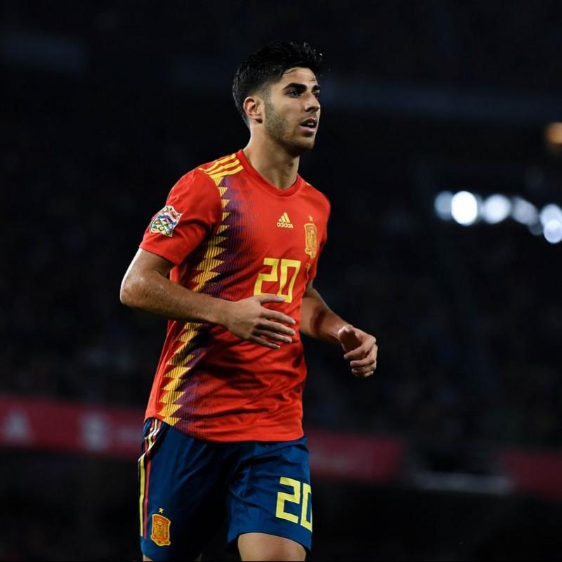 Asensio's Match Shirt, Spain-England 2018