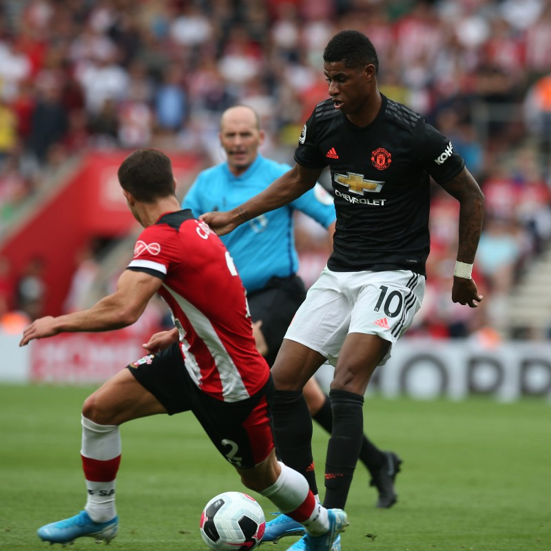 Rashford's Match Shirt, Southampton-Man United 2019