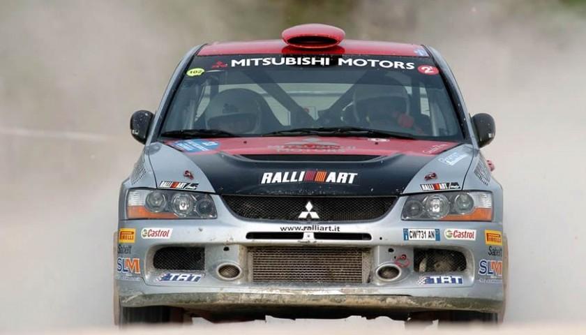 Drive A Mitsubishi Lancer Evo X Rs Rally Car Charitystars