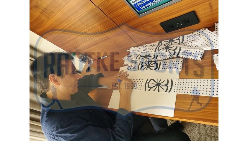 "Ralph Macchio Signed Karate Kid Headband with ""Karate Kid"" Inscription"
