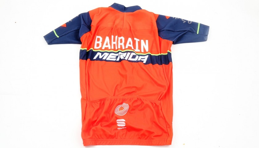 Official Giovanni Visconti Bahrain Shirt, Signed