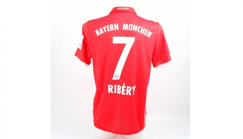Ribery Match-Issued/Worn Shirt, Supercup 2016