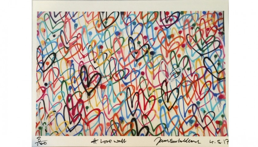 """""""Love Wall"""" by James Goldcrown"""