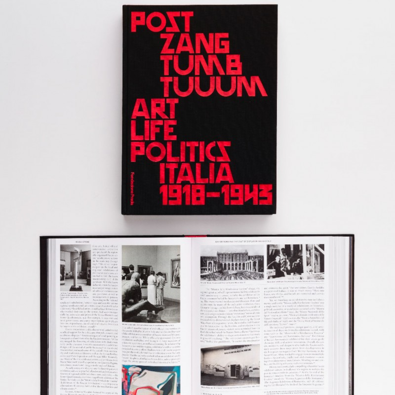 "Catalogo mostra ""Post Zang Tumb Tuum. Art Life Politics"""