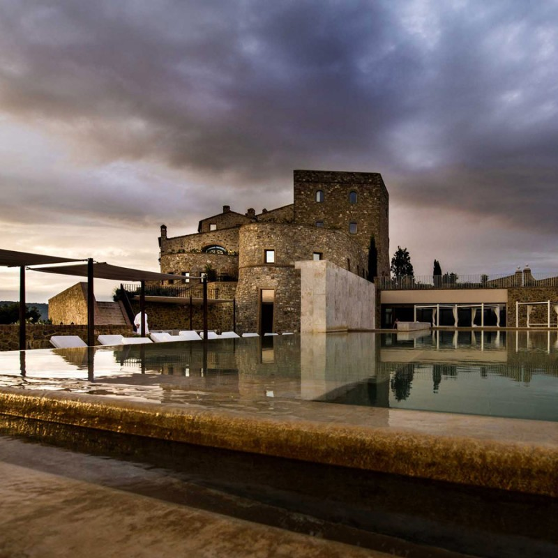 2-Night Stay at Castello di Velona Resort for 2