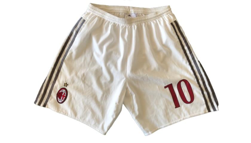 Honda's Match Shorts, Milan-Lazio 2016