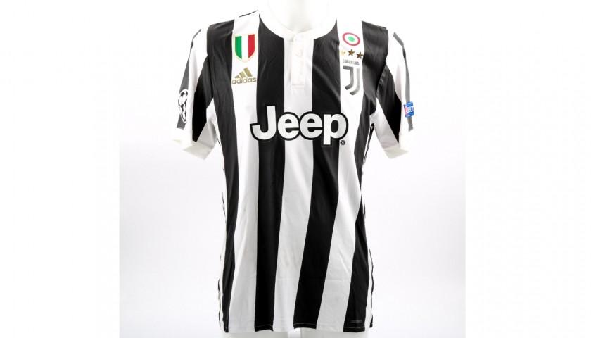 Cuadrado's Unwashed Match-Worn Juventus Shirt