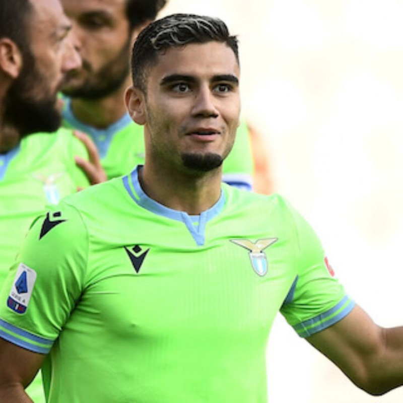 Andreas Pereira's Lazio Worn and Unwashed Shorts, 2020/21