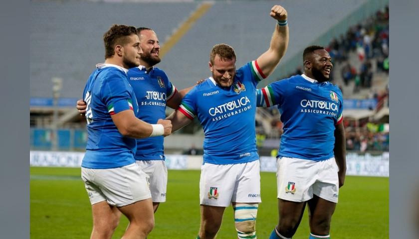 Official FIR 2018 Signed Rugby Shirt