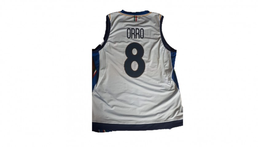 Orro's Italvolley Worn and Signed Jersey