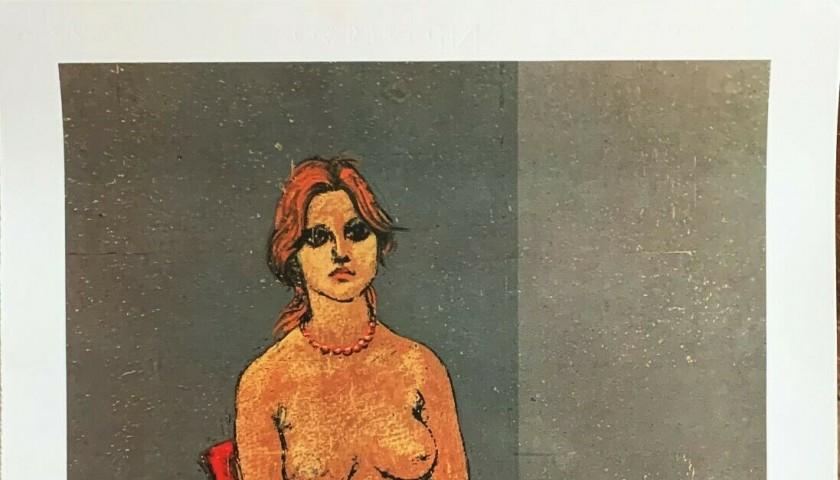 """""""Donna nuda con Collana"""" di Francesco Messina"""