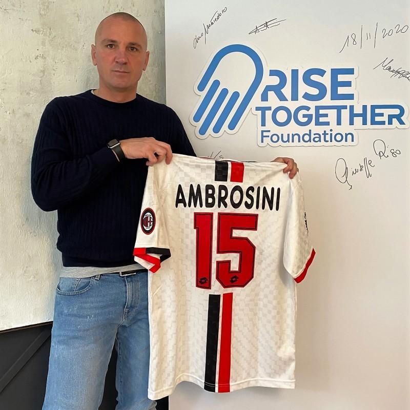 Ambrosini's Milan Worn Shirt, 1996/97