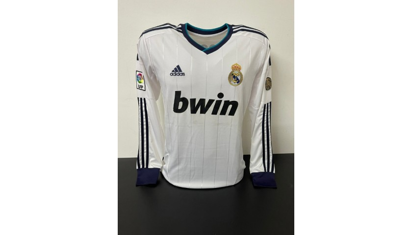 Cristiano Ronaldo's Official Real Madrid Signed Shirt, 2012/13