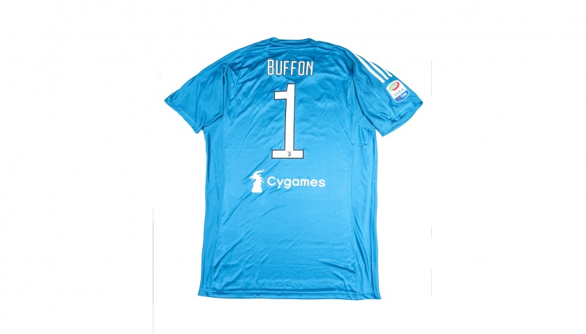 Official 2017/18 Juventus Shirt Signed by Buffon