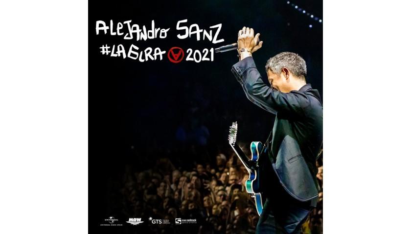 Win Alejandro Sanz' Personal VIP Seats in Houston, TX