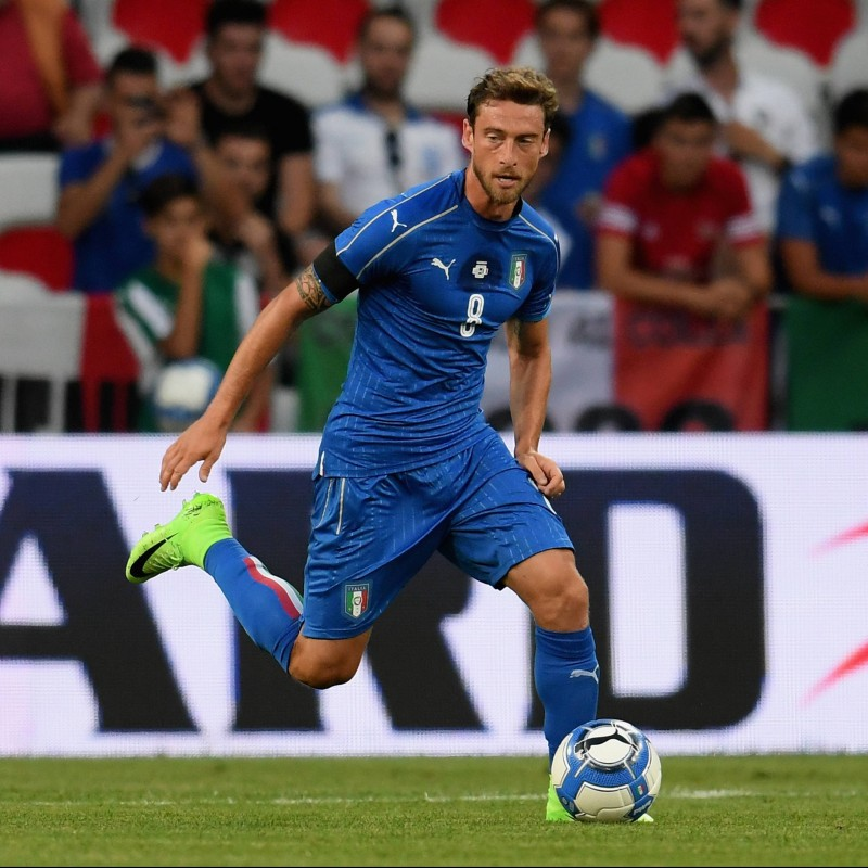 Marchisio's Match Kit, Uruguay-Italy 2017 - Last Match