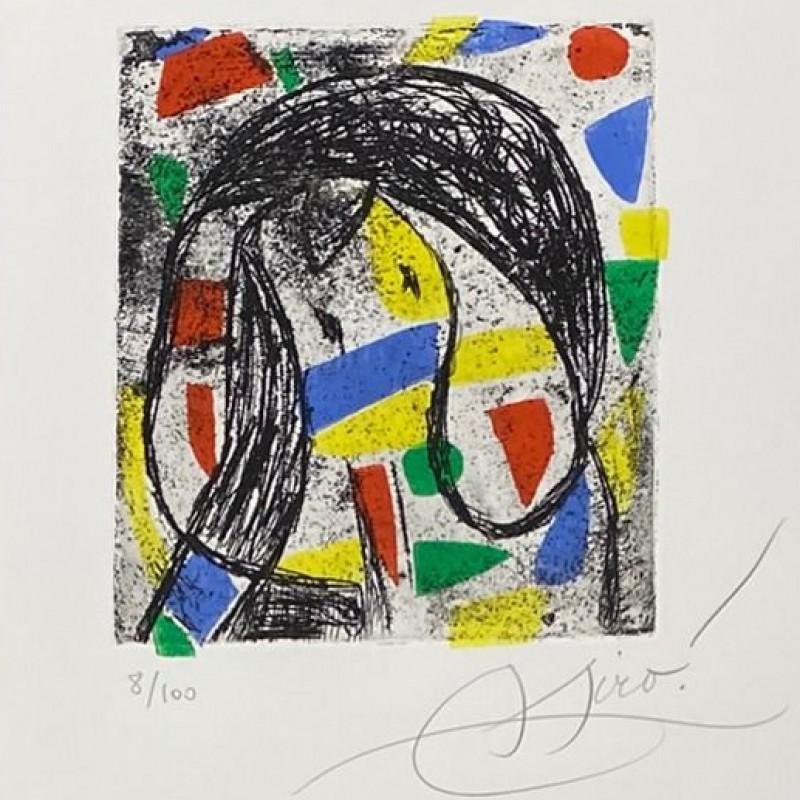 """""""La révolte des caractères"""" by Joan Mirò"""