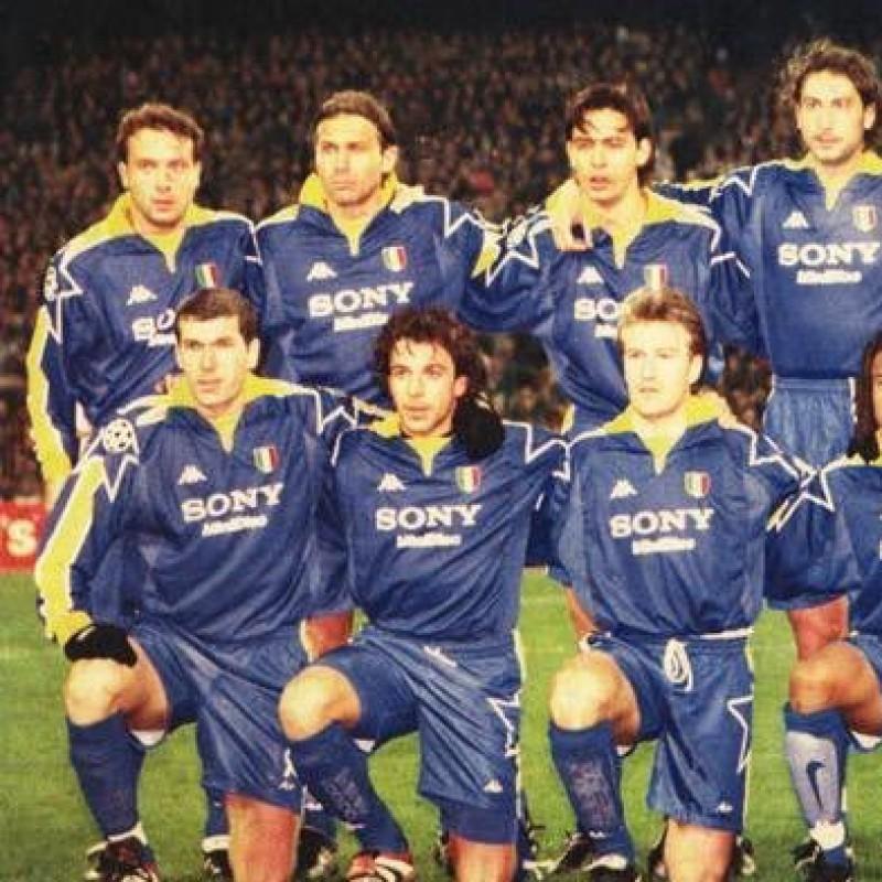 Deschamps' Juventus Match Shirt, Champions League 1998/99