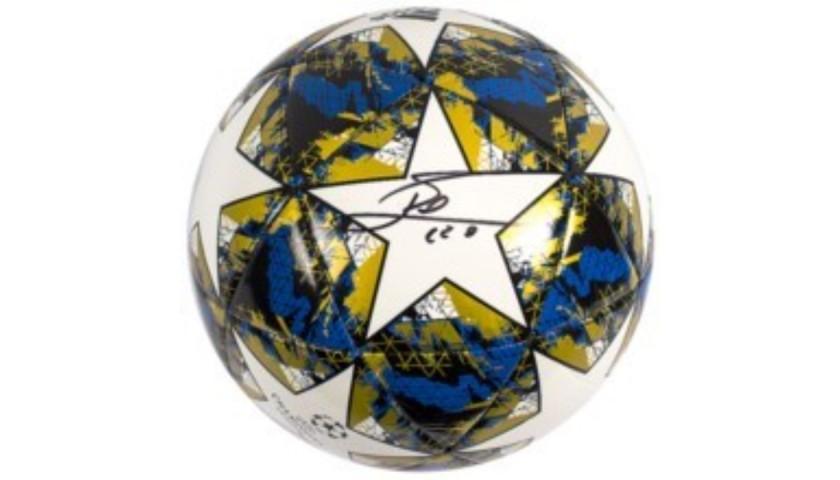 Lionel Messi Signed UEFA Champions Adidas Football