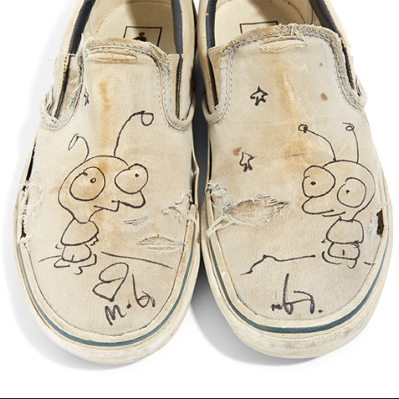 Moby Signed Shoes