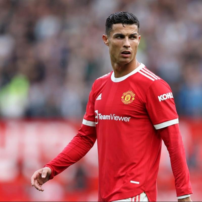 Cristiano Ronaldo Signed Manchester United 21/22 Shirt