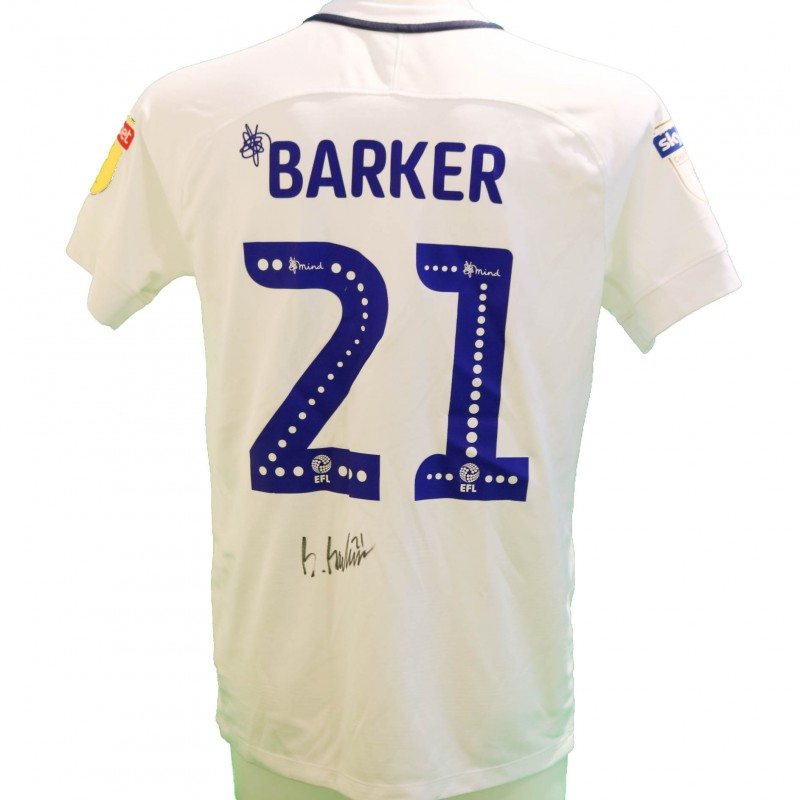 Barker's Preston Issued and Signed Poppy Shirt