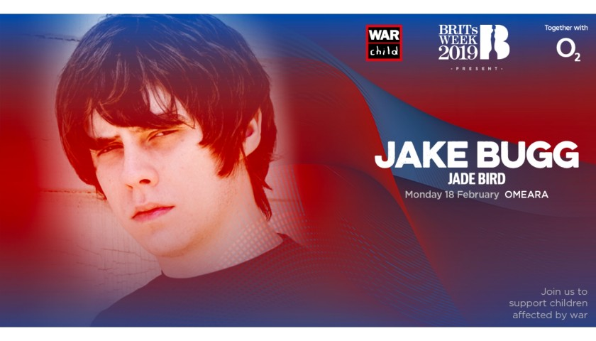 Last 2 Tickets to Jake Bugg Concert in London - Auction 1