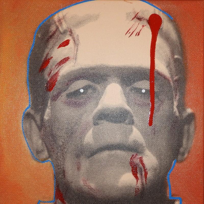 """""""Frankenstein"""" by Steve Kaufman"""