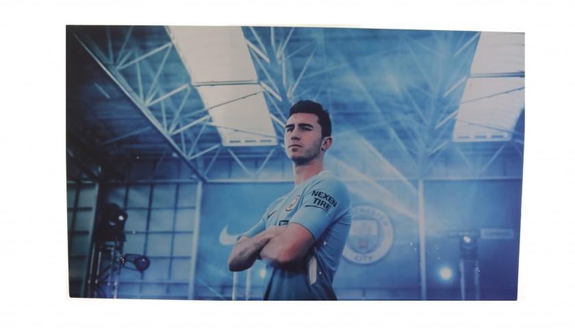 Manchester City's Aymeric Laporte Unique Picture