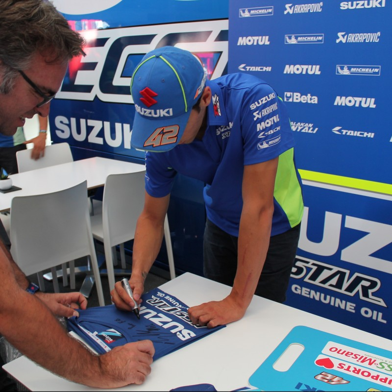 Official Suzuki Kit Signed by Alex Rins