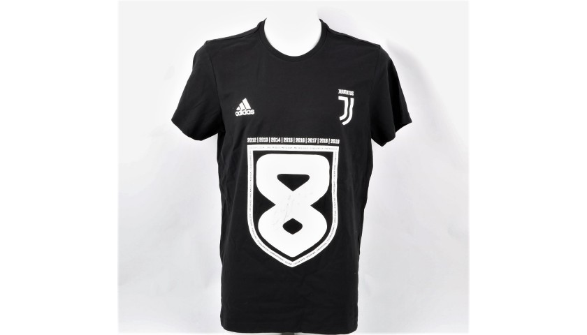 official photos 8d381 12768 Juventus Scudetto W8NDERFUL T-Shirt - Signed by CR7 - CharityStars