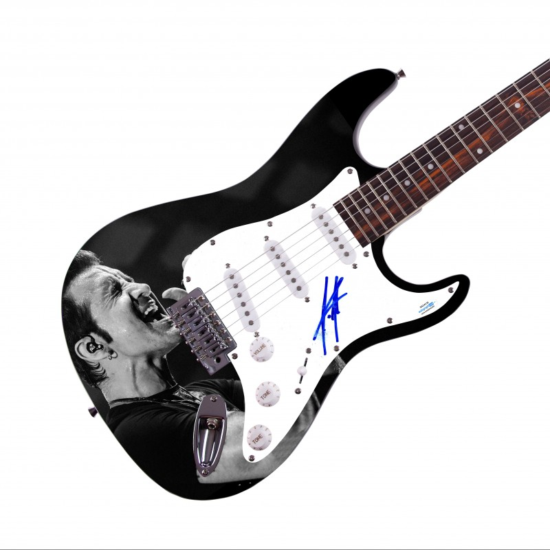 Scott Stapp (Creed) Signed Guitar