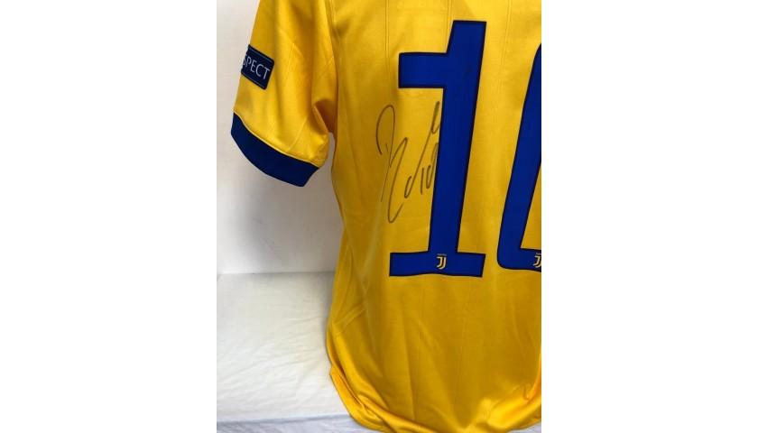 Dybala's Official Juventus Signed Shirt, 2017/18