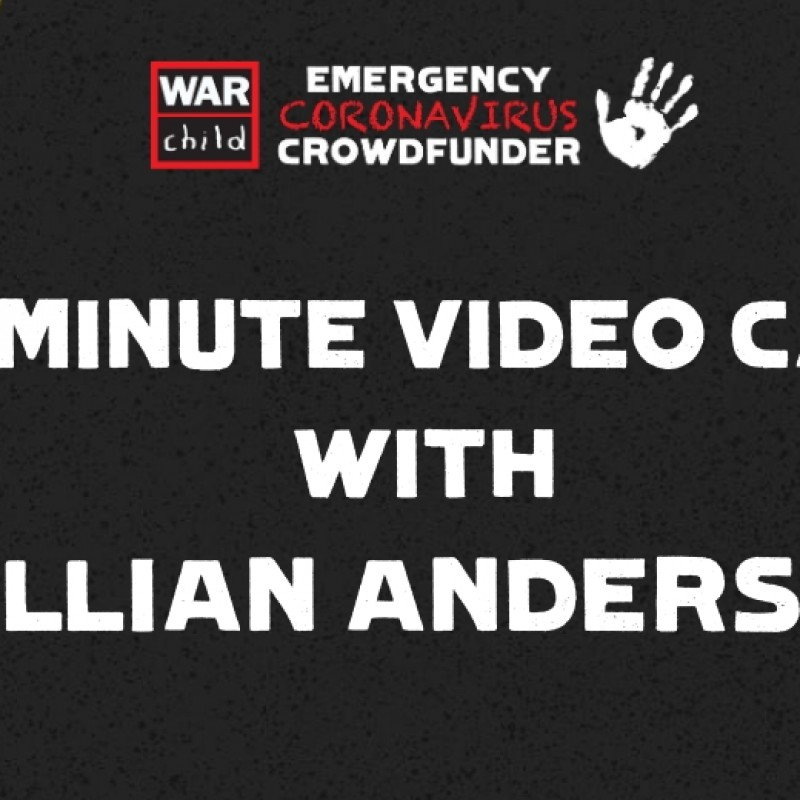 Zoom Call With Gillian Anderson