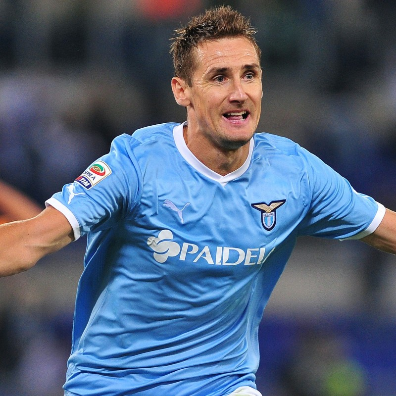 Klose's Official Lazio Signed Shirt, 2011/12