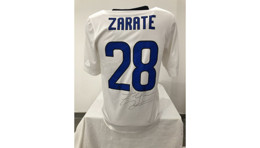 Zarate's Official Inter Signed Shirt, 2011/12