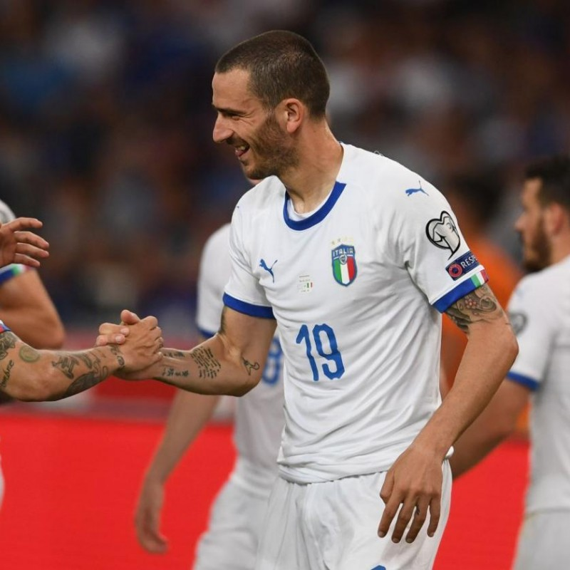 Bonucci's Match Shirt, Greece-Italy 2019